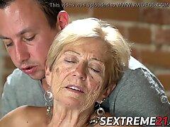 Gamle Seductress spist ud før Big Diller Infiring