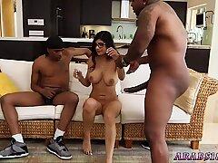 Mature brunette big tits teacher first time My Big Black Threesome - Renata Black