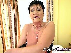 Tongued Old Dame Facial