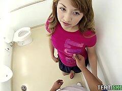 Courtney Loxx Toilet Første Personer SynsVinkel