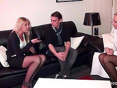Немецкое матурки научить реальные пароски в ВТРОЁМ для лучшего секса